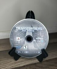 Transformers: The Game (Sony PlayStation 3, 2007) PS3 Disc Only(Tested)