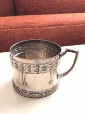 Set 4 WMF Antique Art Nouveau Deco Jugendstil Silver Plated Tea Glass Cup Holder