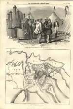 1855 M Soyer Camp Bivouac Kitchen Crimea Plan Attack Malakoff