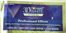Crest 3D Luxe Whitening Whitestrips Professional effect Strong 2 STRIPS SP