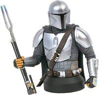 Star Wars Mandalorian Mk3 1:6 Scale Mini Bust San Diego Comic Con Exclusive