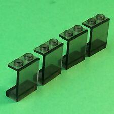 Lego Train RC Eisenbahn ICE  4x FENSTER schwarz transparent aus 7897 #2-277