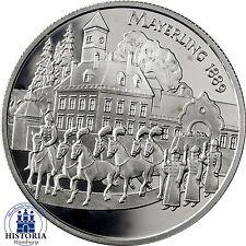 Österreich 100 Schilling Silber 1998 PP Schicksale im Haus Habsburg - Rudolf