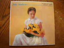 JULIE ANDREWS THE LASS WITH THE DELICATE AIR 1957 RCA LMP-1403 EXCELLENT VINYL