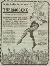 J0187 Thermogène Vandenbroeck - Pubblicità grande formato del 1930 - Old advert