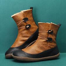 Winter Ankle Boots Flat Cotton Shoes Single Boots Low-Top Classic Women's Shoes