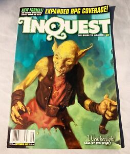 Inquest The Guide To Gaming Price Guide September 1997 VG