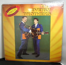 """The EVERLY BROTHERS / Nashville Tennessee, Nov. 9, 1955 ** Sealed 12"""" EP (1981)"""