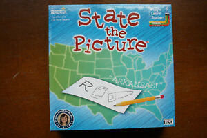 STATE THE PICTURE - SOCIAL STUDIES & GEOGRAPHY KIDS EDUCATIONAL BRIARPATCH GAME