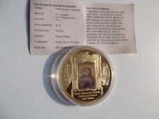 Medaille Vatikan: Das Vaterunser, Gott Vater im Himmel PP Cu vergoldet ,O- 50 mm