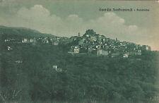NP6159 - GUARDIA SANFRAMONDI BENEVENTO - PANORAMA VIAGGIATA 1920