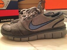 Nike Free Run 5.0 RunningShoes Gray/Blue 11 Training Athletic pre-Flyknit