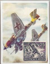 Nazi Germany Third 3rd Reich WW2 STUKA DIVE BOMBER stamp MNH 1943