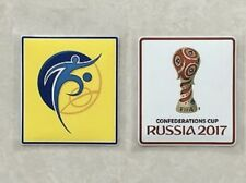 Set Of Confederation Cup Russia 2017 Patch Badge Germany Portugal Mexico Jersey