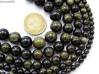 Natural Golden Obsidian Gemstone Round Beads 15.5'' 6mm 8mm 10mm 12mm 14mm