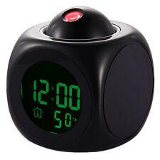 Wecker Digitalanzeige Voice Talking LED Projektion Temperatur Dekor