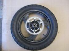 Roue arrière avec pneu Dunlop bon état pour Yamaha 125 TDR - 5AE - 4FU