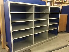Thrifty 15 Compartment Cabinet/storage Unit • Blue • Ideal Nursery