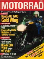 M8403 + HONDA CBX 750 F vs. VF 750 F + Test GL 1200 Gold Wing + MOTORRAD 3/1984