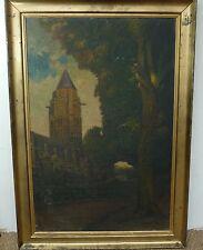 """HUILE SUR TOILE signé """"MAZIER"""" 1925"""