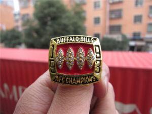 1993 Buffalo Bills American Football Team Ring Souvenir Fan Men Gift