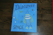 Pottery Barn Kids Space Wall art
