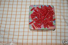 25 RICAMBIO Nocks 5,5 mm CACCIA Bersaglio Freccia Nocks ROSSO CONFEZIONE DA 25 PEZZI