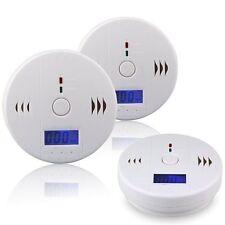 CO Carbon Monoxide Tester Poisoning Gas Sensor Warning Alarm Detector LCD SP