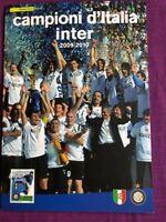 FOLDER 2010 INTER CAMPIONE D'ITALIA 2009-2010 AL VALORE FACCIALE