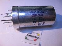 Electrolytic Capacitor Type KFP 40,100,2,200uF 350,300,175,10VDC 974576-43 NOS
