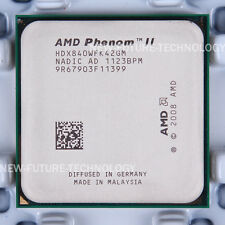 AMD Phenom II X4 840 (HDX840WFK42GM) CPU 667 MHz 3.2 GHz Socket AM3 100% Work