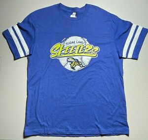 Sugar Land Skeeters Graphic T-Shirt Unisex Vintage Royal Rated Sporty Youth XL