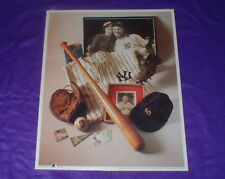 "1993 LOU GEHRIG ""THE IRON HORSE"" LICENSED PHOTO NO. 6 W/ CERTIFICATE"