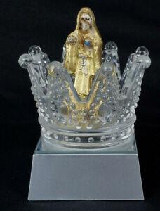 "4"" 1/2 Lampara LED Santa Muerte holy death Lamp decoracion de tu altar STM IMAG"