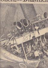 C1 Mer SOLEIL DU DIMANCHE Juillet 1898 Naufrage PAQUEBOT LA BOURGOGNE