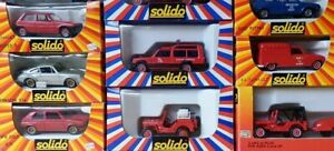 SOLIDO 1:43 car miniature Vehicle Diecast metal Scale model Brand new Boxed toy