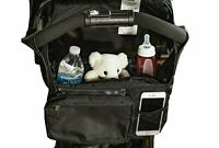 New JFSG Stroller Organizer. Fits all Strollers, Zip off Pouch, Removable Strap