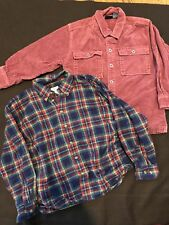 Lot of 2 boy's tops Talbots Kids shirt and Corduroy Jacket