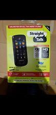 Samsung SGH T528G - Dark gray (Straight Talk) Cellular Phone + sim card