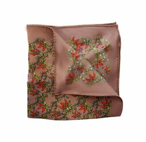 Dolce & Gabbana Mens Chilli GR412E Pocket Square Multicolour