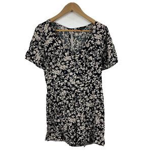 Portmans Womens Playsuit Romper Size 10 Floral Short Sleeve Multicoloured 18.29
