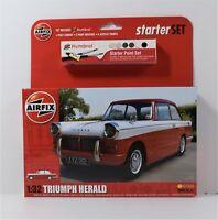 Airfix 1:32 Triumph Herald Starter Set Kit  A55201   BRAND NEW