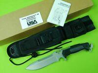 US UZI DEFENDER ZF0030 Heavy Duty Fighting Knife & Sheath NEW IN BOX