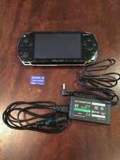 (QL) Sony PSP 1000 1001 System w/ Charger & Memory Card Bundle TESTED WORKS