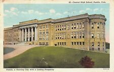 VTG POSTCARD CENTRAL HIGH SCHOOL PUEBLO COLORADO CO / B01