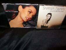 Shania Twain *Man I Feel Like A Woman-Europe+You're Still The One-U.S. CDSingles