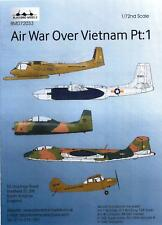 Blackbird Decals 1/72 AIR WAR OVER VIETNAM Part 1
