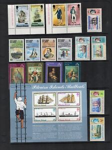 Stamps collection British commonwealth M & MH Pitcairn Islands #496