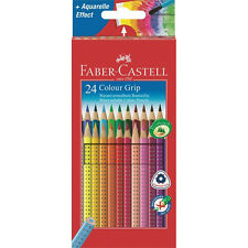 Faber-Castell 112424 Farbstift Colour Grip Kartonetui 24er