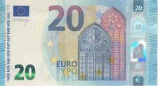 European Union Banknote P22R 20 Euro 2015 Prefix RB,  Plate R010C4, UNC